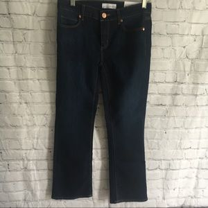 LOFT flare crop jeans 26 2 New NWT